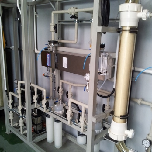 High purity PP and PVDF and double containment piping